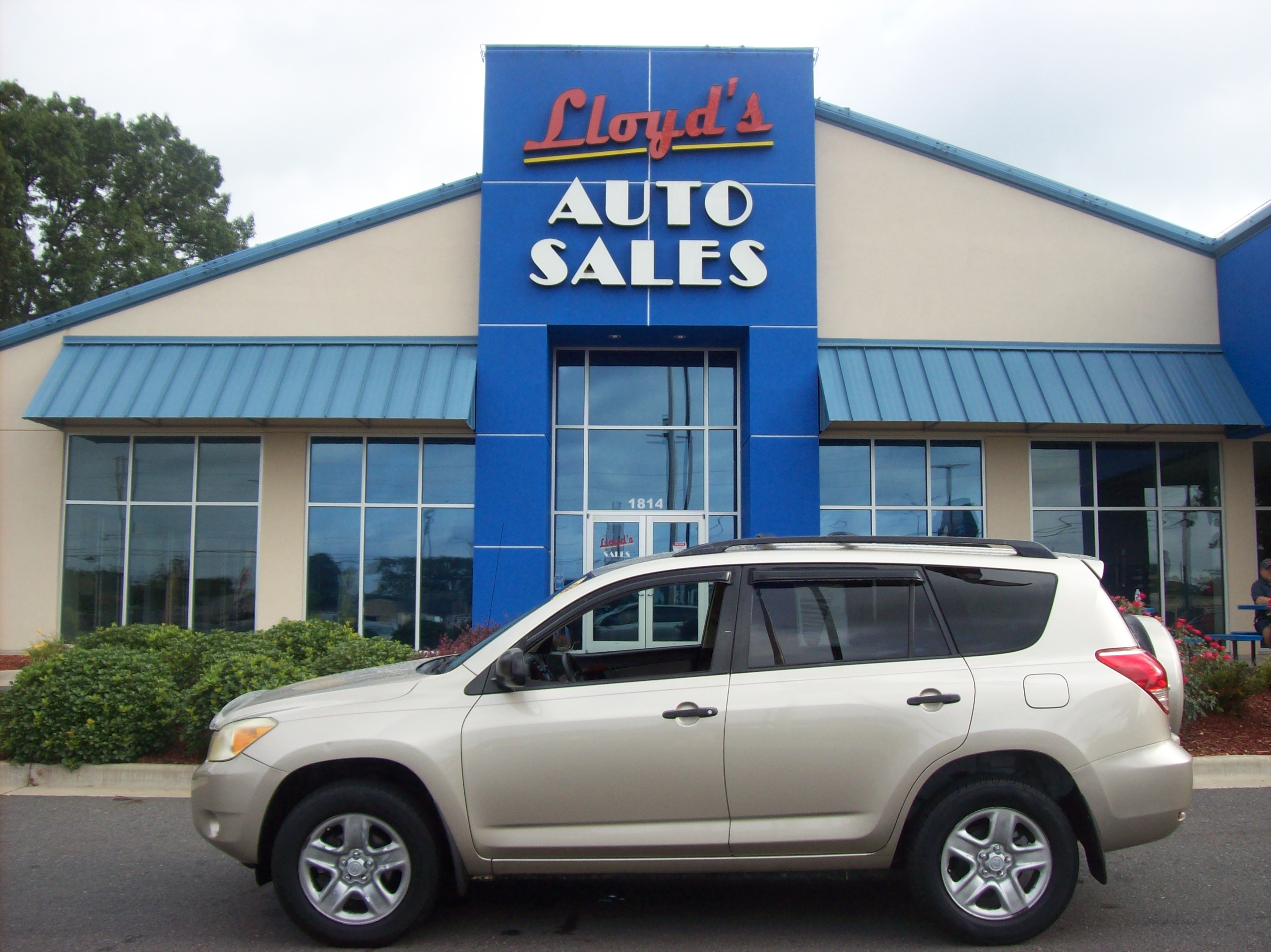 2008 Tan /Tan / Cloth Toyota RAV4 Base V6 2WD (JTMZK33V986) with an 3.5L V6 DOHC 24V engine, 5-Speed Automatic transmission, located at 1814 Albert Pike Road, Hot Springs, AR, 71913, (501) 623-1717, 34.494591, -93.094971 - Photo #0