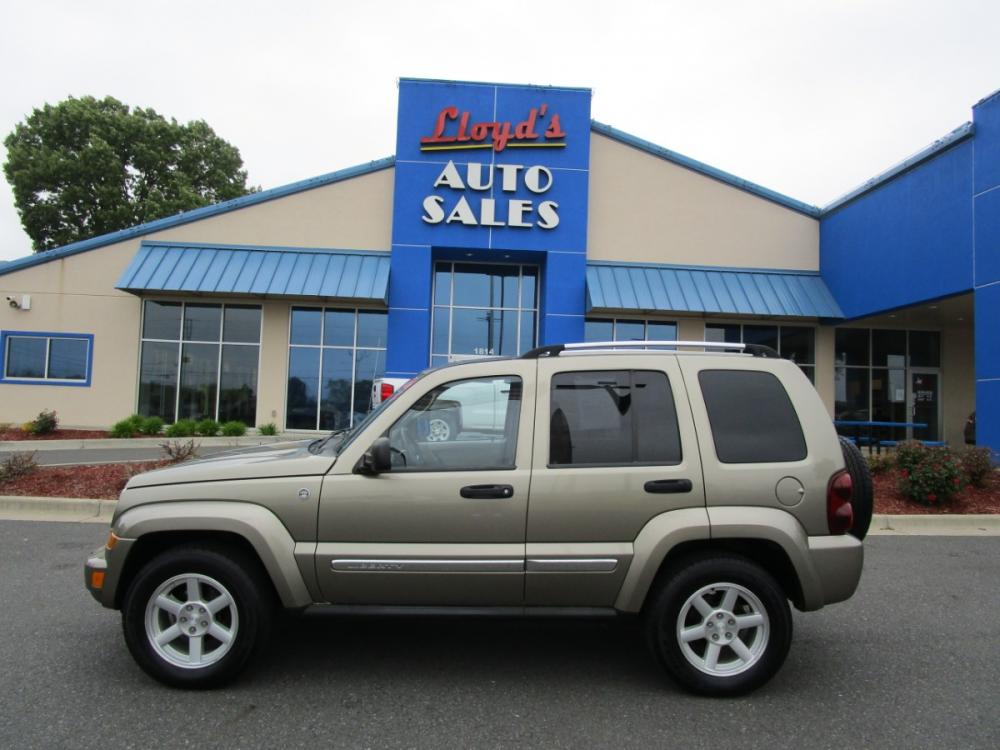 2007 Gold /Tan/Leather Jeep Liberty Limited 4WD (1J4GL58K47W) with an 3.7L V6 SOHC 12V engine, located at 1814 Albert Pike Road, Hot Springs, AR, 71913, (501) 623-1717, 34.494591, -93.094971 - Photo #0